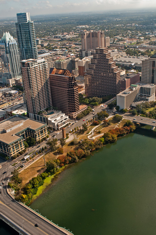 Austin TX from above