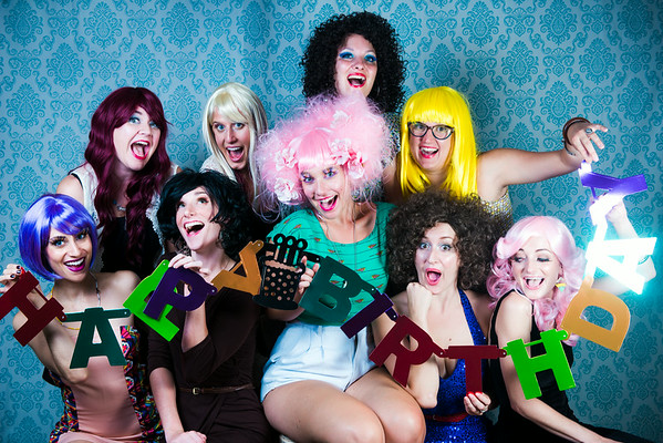 Wig Party August 1st, 2014