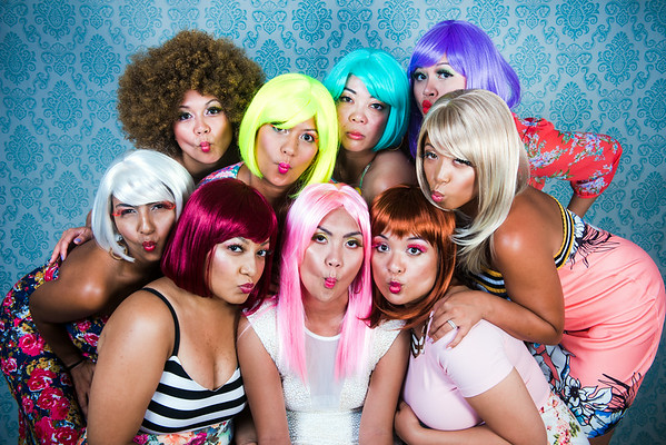 Wig Party August 22nd, 2014