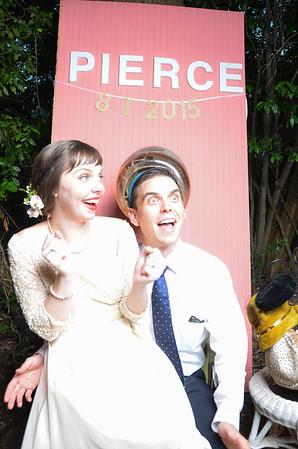 Derek & Corinne Wedding Photo Booth August 1st, 2015